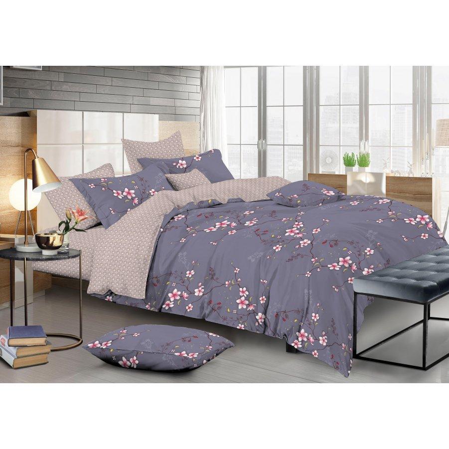 Полуторное постельное белье Сатин Люкс (100% хлопок) - KWL1937