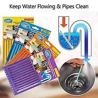 Sani Sticks для чистки канализационных труб