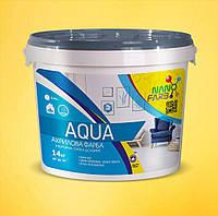 Интерьерная акриловая краска моющаяся Aqua Nanofarb 14 кг