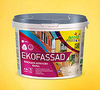 Акриловая фасадная краска Ekofassad Nanofarb 7 кг