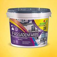 Акриловая фасадная краска Fassadenfarbe Nanofarb 14 кг
