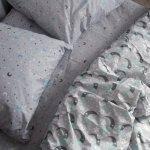 Сімейна постільна білизна Бязь Gold - Місяць баюн 570/620 грн (ціна за 1 шт +50 грн), фото 3