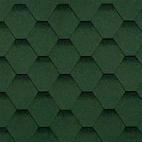 Черепица гибкая Shinglas Финская зеленый уп. 3 м2