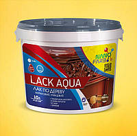 Лак по дереву Lack Aqua Nanofarb 10 л