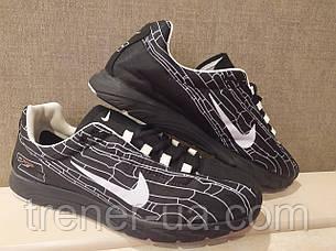 Кросівки літні в стилі Nike червоно-чорні, чорно-білі