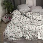 Двоспальна постільна білизна Бязь Gold - Місяць баюн 450/500 грн (ціна за 1 шт +50 грн), фото 5