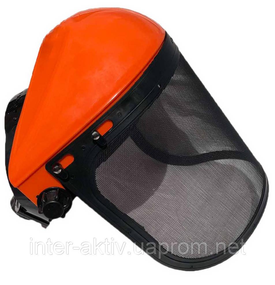Защитный щиток для бензокосы с сеткой InterActive