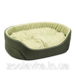 Лежак для собак «Омега»2 55*43*15 см хакі/оливка