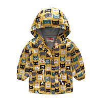 Куртка-ветровка детская Веселые коты Jomake
