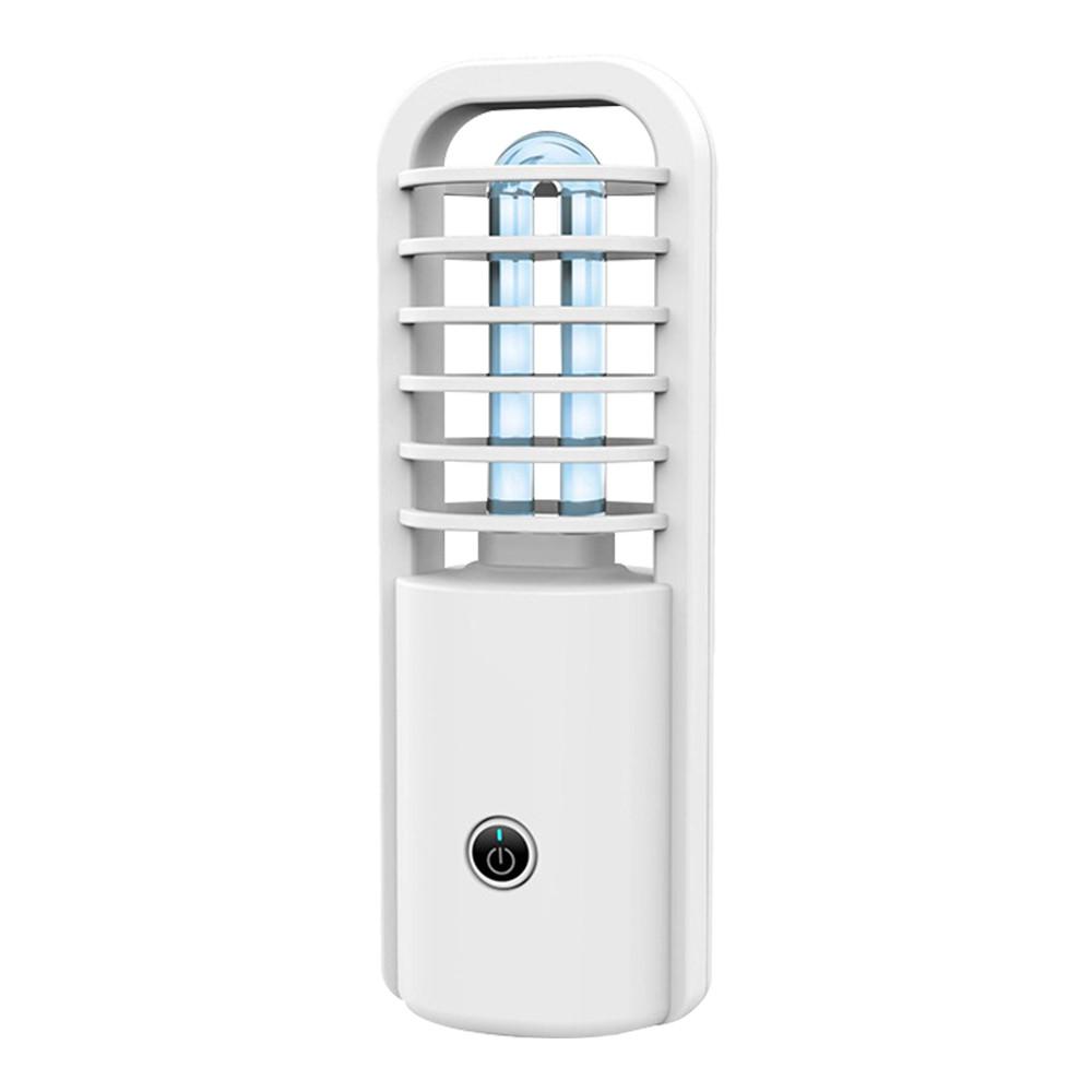 Акумуляторна УФ-лампа UV Гермицидная дезінфекція Біла (hub_Drla99574)