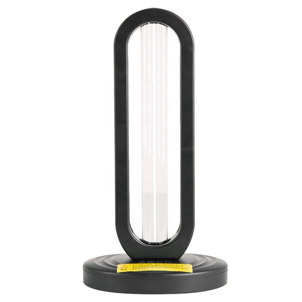 Система очищення повітря для лікарні і фабрики UV портативна лампа дезінфекції Чорний (hub_AtWp02307)