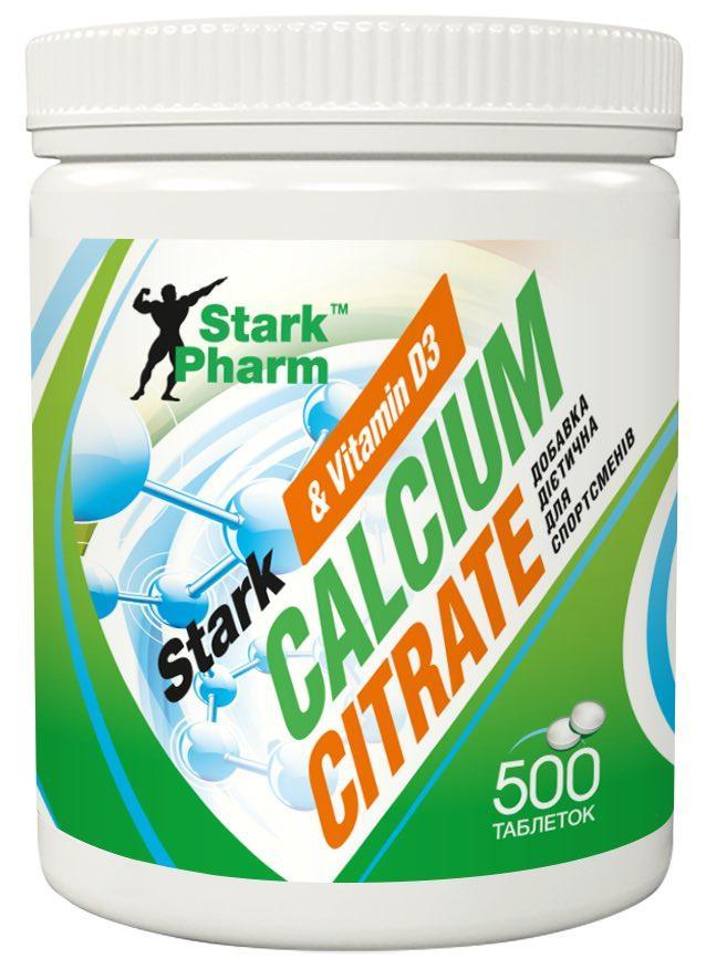 Кальцій Calcium Citrate & Vitamin D3 1000 мг Stark Pharm 500 таблеток