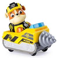 Щенячий патруль мини спасательный автомобиль с водителем Рокки (серия «Тайная миссия»)