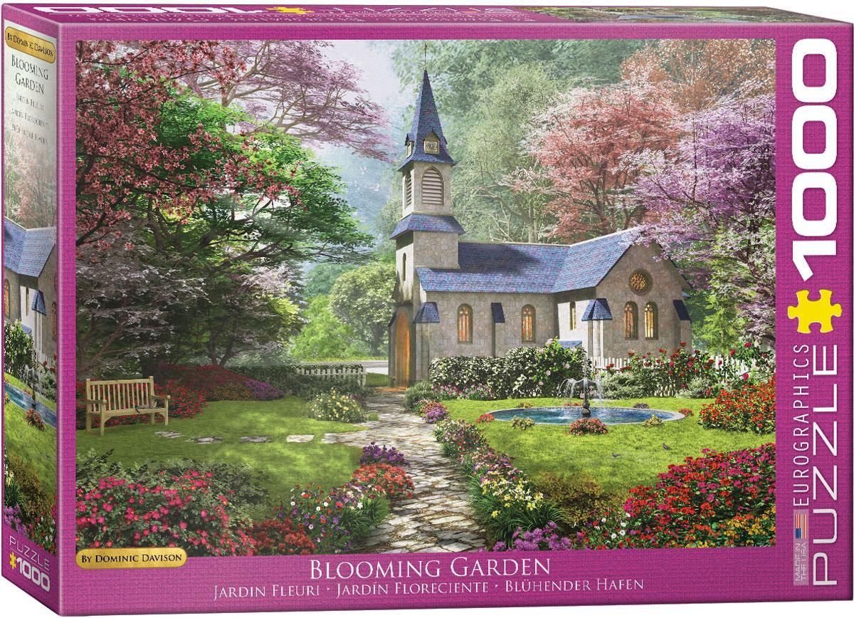 """Пазл """"Цветущий сад"""" Доминик Дэвисон 1000 элементов EuroGraphics (6000-0964)"""