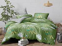 Двуспальный комплект постельного белья евро 200*220 сатин (13453) TM КРИСПОЛ Украина
