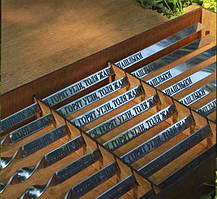 Шампур с деревяной ручкой 14мм с гравировкой  750*14*3