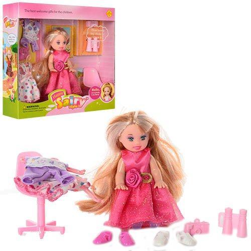 Маленькая красивая кукла Defa с аксессуарами