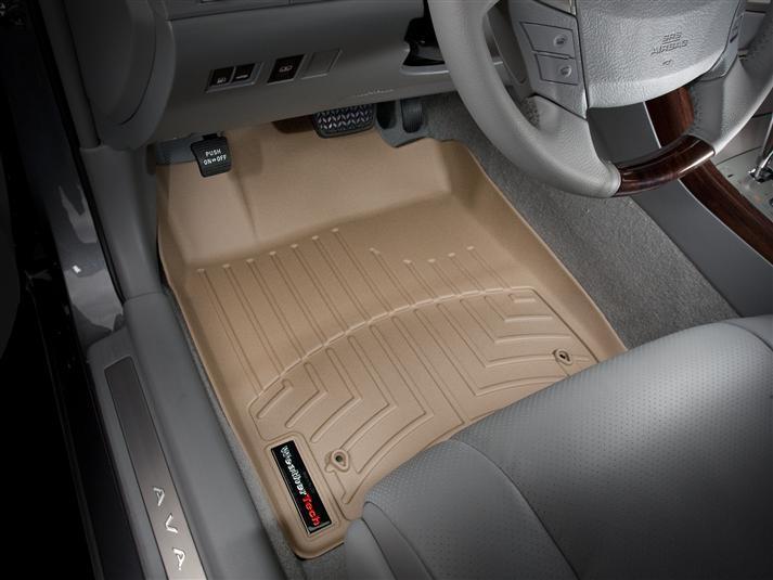 Ковры резиновые WeatherTech Toyota Avalon 2005-2012 передние бежевые