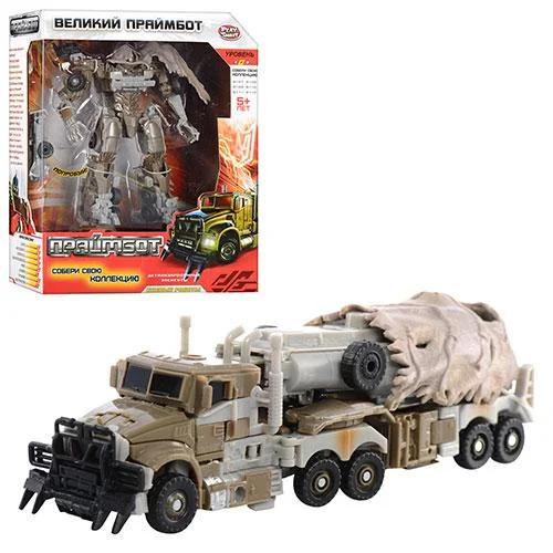 Трансформер Робот Праймбот Військовий трейлер H 606/8110