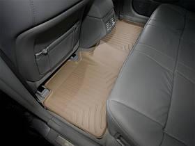 Ковры резиновые WeatherTech Toyota Avalon 2005-2012 задний бежевый