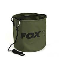 М'яке Відро Fox Collapsible Water Bucket Large 10 Ltr, фото 1