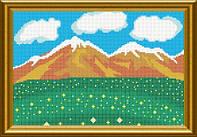 Схема для вишивки бісером Літо в горах. Арт. СКМ-83