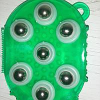 Массажер силиконовый с металлическими шариками / Масажер силіконовий з металевими кульками