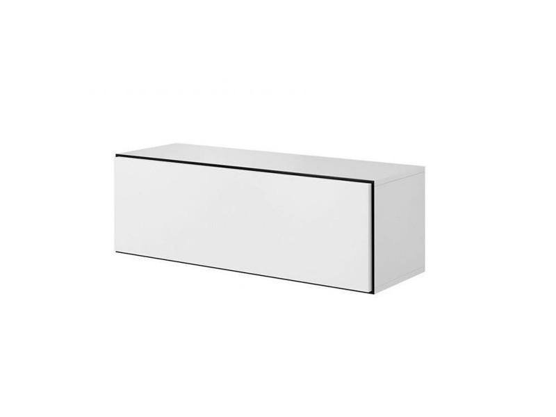 ТВ тумба ROCO RO-1 112 белый/черный/белый (CAMA)