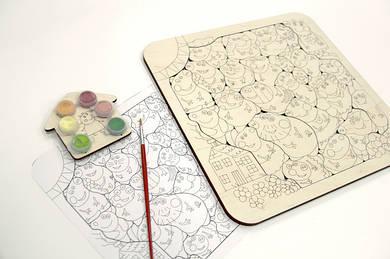 Деревянные наборы для творчества