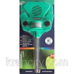 Отпугиватель животных Greenmill GR5108 на батареях с настраиваемой частотой