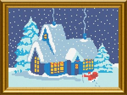 Схема для вишивки бісером Санта Клаус йде!. Арт. СКМ-86 ad1a96f22590a