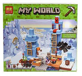 """Конструктор Bela Minecraft """"Ледяные шипы"""" 10621"""