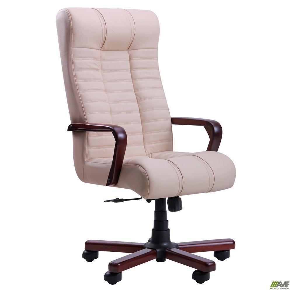 Кресло офисное AMF Атлантис Флеш ванильное