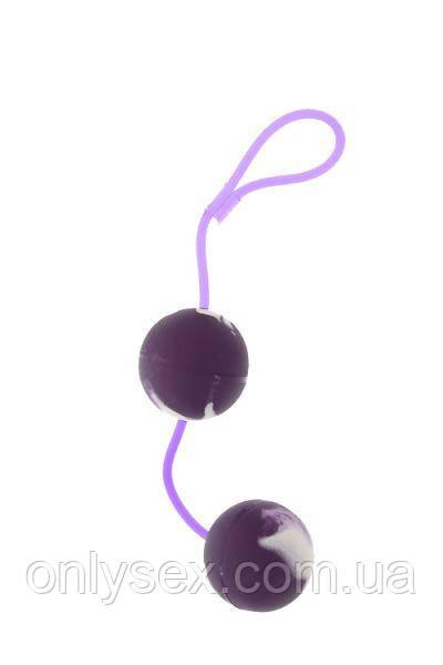 Вагинальные шарики Marbelized DUO BALLS, PURPLE