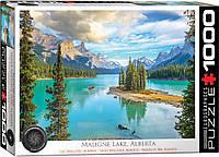 "Пазл ""Озеро Малайн, Альберта"" 1000 элементов EuroGraphics (6000-5430), фото 1"