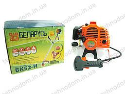 Бензокоса Беларусь БК52-Н (нож, катушка с леской, ремень-рюкзак)