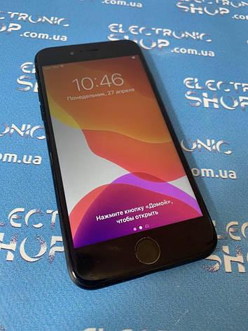 Смартфон Apple iPhone 7 black 128gb б.у original, фото 2