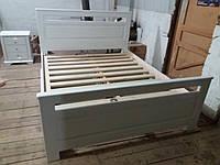 Ліжко з дерева біле