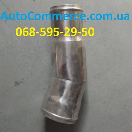 Патрубок интеркулера Dong Feng 1064,1074 Донг Фенг, Богдан DF47 металлический, фото 2