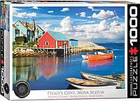 """Пазл """"Пегги Коув. Новая Шотландия"""" 1000 элементов EuroGraphics (6000-5438), фото 1"""