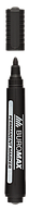 Маркер водост., черный, 2-4 мм, спиртовая основа