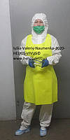 КОМПЛЕКТ ЗАЩИТНОЙ ОДЕЖДЫ ТМ HELIOS VIVUS® (ИЗОЛИРУЮЩИЙ КОСТЮМ/КОМБИНЕЗОН) МНОГОРАЗОВЫЙ с обувью 11006