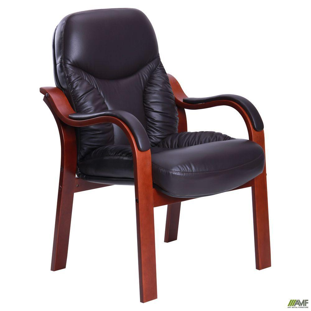 Стул офисный кожаный AMF Буффало CF коричневое