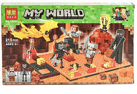 """Конструктор Bela Minecraft """"Нападение в нижнем мире"""" 10963"""