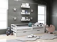 Дитяча дерев'яне ліжко Кіндер з ящиками 80х190 см.