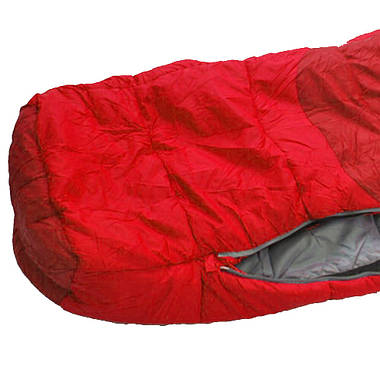Спальний мішок Pinguin Comfort 195 Red Right Zip, фото 2