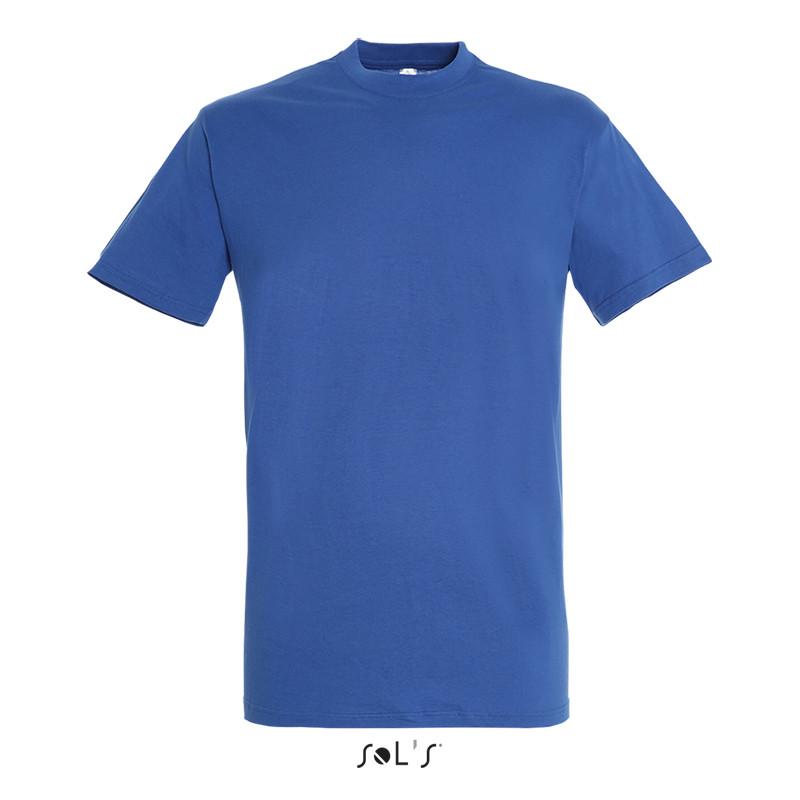 Футболка SOL'S REGENT синий цвет