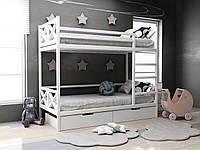 Двухъярусная кровать Лиана с ящиками 80х190 см. ТМ MegaOpt
