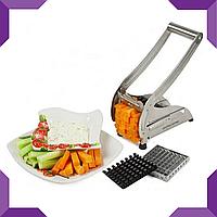 Картофелерезка,машинка для нарізки картоплі фрі, ручна картофелерезка Potato Chipper, фото 1