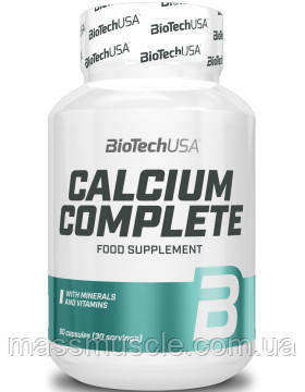 Кальций BioTech USA Calcium Comlete 90caps